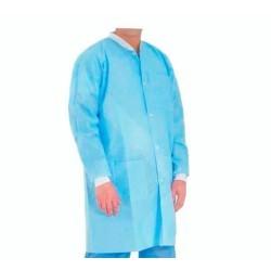 OEM Disposable Visitors Coat Blue 10Pcs ΠΛΑΣΤΙΚΟ ΠΑΛΤΟ 0250650003