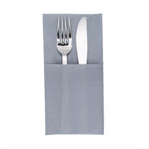 finezza Napkin Airlaid Pocket Fold Grey 75PCS 40X33 4Α-ΑΤ-66 0140430031