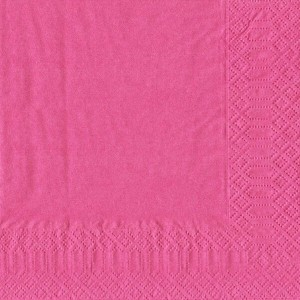 finezza Napkin Luxury Dark Pink 500PCS 24X24 ΠΟΛΥΤΕΛΕΙΑΣ ΦΟΥΞ 24Χ24 0140430033