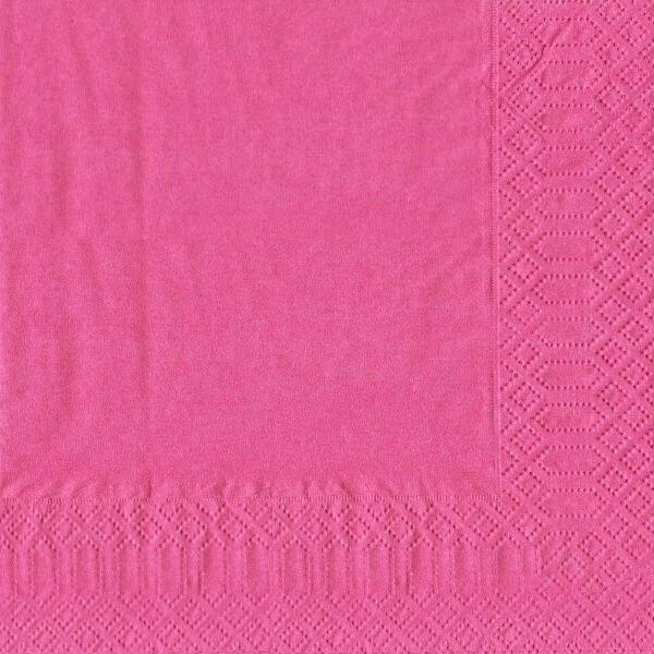 finezza Napkin Luxury Dark Pink 500PCS 24X24 ΠΟΛΥΤΕΛΕΙΑΣ ΦΟΥΞ 24Χ24 0140430033