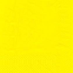 finezza Χαρτοπετσέτα Πολυτελείας Κίτρινη 500ΤΕΜ 24Χ24 2Π-ΑΤ-15 0140430040