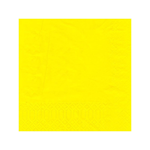 finezza Napkin Luxury Yellow 500PCS 24X24 ΠΟΛΥΤΕΛΕΙΑΣ ΚΙΤΡΙΝΗ 24Χ24 0140430040