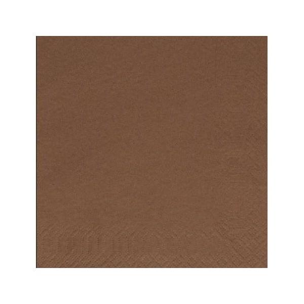 finezza Napkin Luxury Brown 500PCS 24X24 ΠΟΛΥΤΕΛΕΙΑΣ ΚΑΦΕ 24Χ24 0140430041