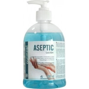 quimxel Aseptic Hydro Alcohol Antiseptic Locion 500ML 0470130 8428446471307