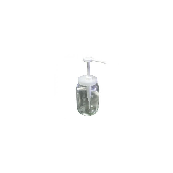 JDS Glass Jar With Pump ΒΑΖΟ ΜΕ ΑΝΤΛΙΑ 0251330008