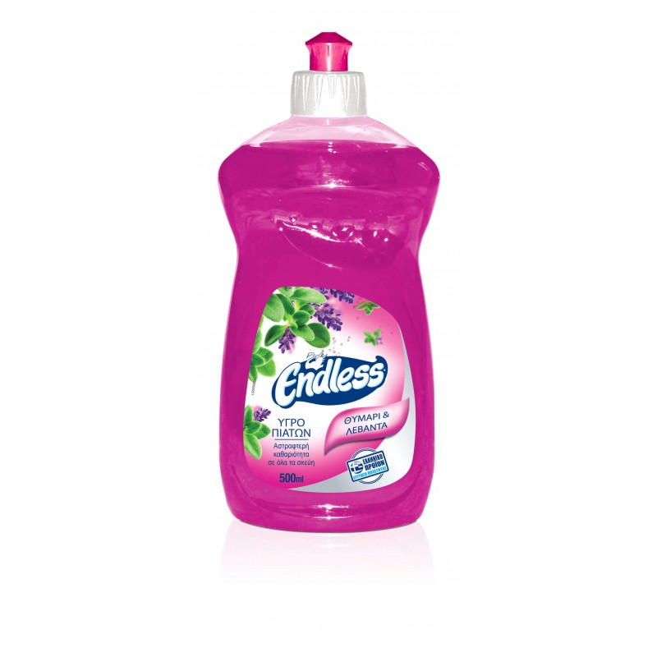 Endless Manual Dishwashing Liquid Thyme And Lavender 500ML 1200500221 5202995106612