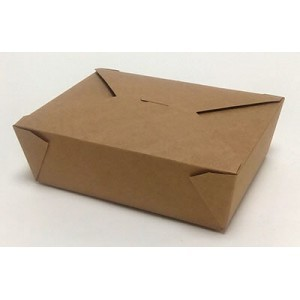 Αφοί Ρόη Paper Kraft Bio Box Portion 19X14X6 40PCS 0001092-1 0150780013