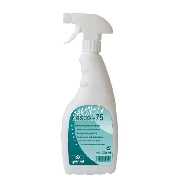 quimxel Descol 75 Hydro Alcoholic Sanitizer 750ML 0470116-K 8428446471451