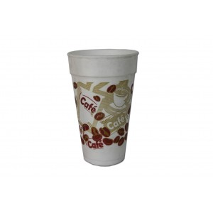 MICHAEL PROCOS Foam Cups Printed 12OZ/350ML 20PCS 0091015-1 5202511560003