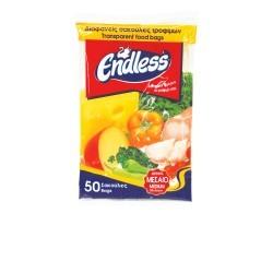 Endless Transparent Food Bag Medium Νο2 50PCS 2999110102 5202995002013