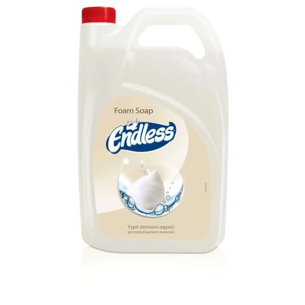Endless Υγρό Σαπούνι Αφρού 4LT 1200440707 5202995106667