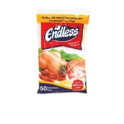 Endless Transparent Food Bag Large Νο3 50PCS 2999110103 5202995002020