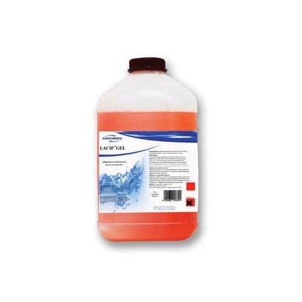 ΟΙΚΟΧΗΜΙΚΗ Lacip Gel Disinfectant Liquid For Utensils 5Kg 13090902038 5205662003740