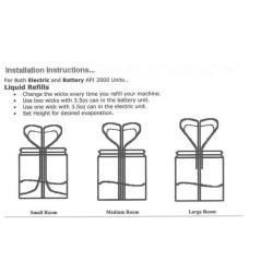 Sani Air Odor Neutralizer Jar Apple Jack 103ML 01-0039 0130900027