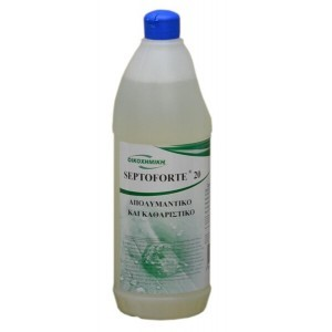 ΟΙΚΟΧΗΜΙΚΗ Septoforte 20 Cleaner And Disinfectant 1Lt 13060600013 5205662005867