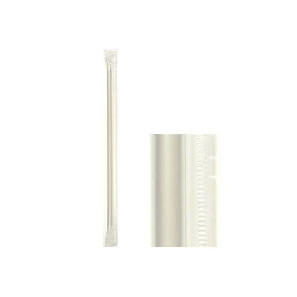 KORPLAST Jumbo Straight Straws Transparent 1/1 1000PCS 000841 0150500023