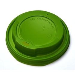MICHAEL PROCOS Plastic Cip Lids For 14OZ-16OZ Cups Green 100PCS 10.06.2158 0150210048