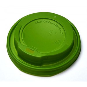 MICHAEL PROCOS Plastic Cip Lids For 14OZ-16OZ Cups Green 100PCS 10.06.2158 0150210048