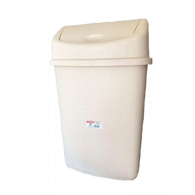 ΚΥΚΛΩΨ Bin With Swing Lid Beige 55Lt 003301820 5202707005240
