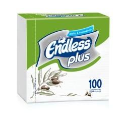Endless Χαρτοπετσέτα Plus 100 Τεμάχια 30Χ30 Ελιά 1100300025 5202995008459