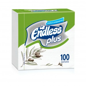 Endless Napkin Plus 100PCS 30Χ30 Olive 1100300025 5202995008459