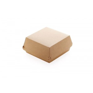 Dimexsa Paper Burger Box Kraft Medium 90Pcs 0560002-CR 0150780016