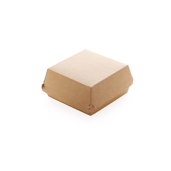 Dimexsa Paper Burger Box Kraft Medium 90Pcs 0560002-CR 0150780016