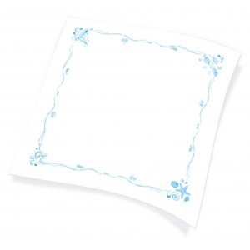 Endless Table Cover 1X1 Nautical Print 150PCS 1100791107 0520299500698