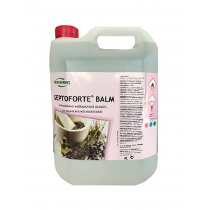 ΟΙΚΟΧΗΜΙΚΗ Septoforte Balm Alcohol Disinfectant 4LT 13060600036 0130930018