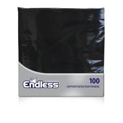Endless Napkin Luxury Black 100PCS 38X38 1100380011 5202995008657