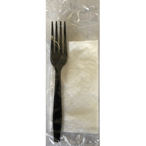 finezza Cutlery Set Lux With Fork And Napkin 28X28 ΚΟ-ΑΤ-105 0150820019