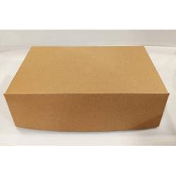 4way Χάρτινο Κουτί Κραφτ Club Sandwich XL 000781-1 5200150780020