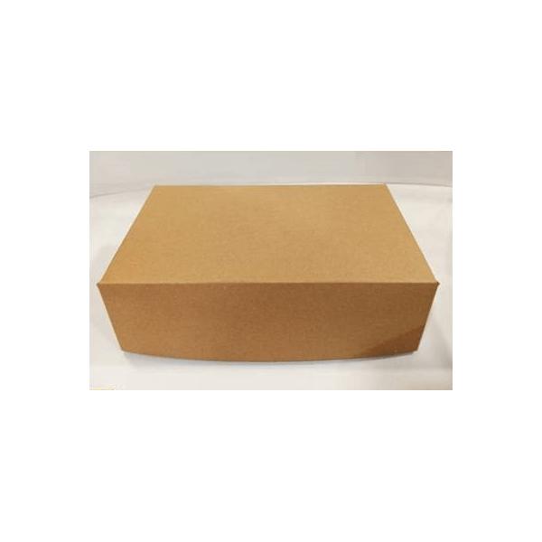 4way Χάρτινο Κουτί Κραφτ Club Sandwich XL 000781-1 0150780020
