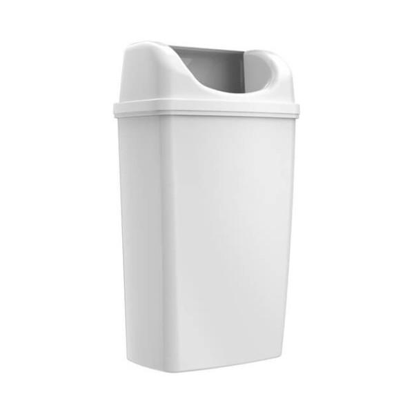 OEM Wallmount Waste Bin 50Lt White 23-09-108 0161010036