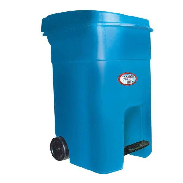 ΚΥΚΛΩΨ Drum With Wheels And Pedal Blue 80Lt 003301663 5202707991048