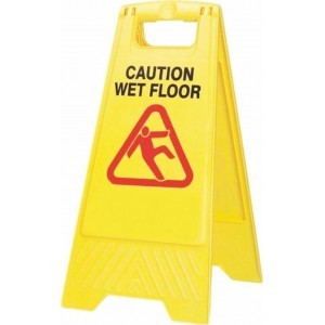 OEM Wet Floor Sign