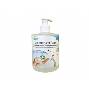 ΟΙΚΟΧΗΜΙΚΗ Septoforte 40S Alcohol Hand Disinfectant Pump 500ML 13060600039 5205662009407