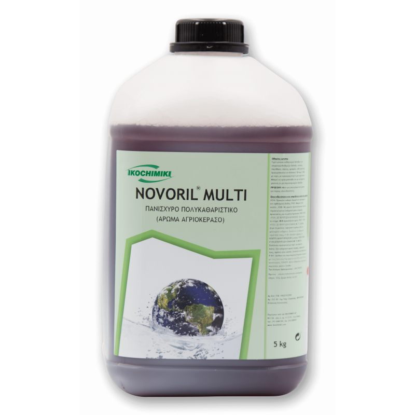 ΟΙΚΟΧΗΜΙΚΗ Novoril Multi Ισχυρό Πολυκαθαριστικό 5KG 13151501024 5205662004839