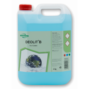 ΟΙΚΟΧΗΜΙΚΗ Deolit B Glass Cleaner 4KG 13151502009 5205662002767