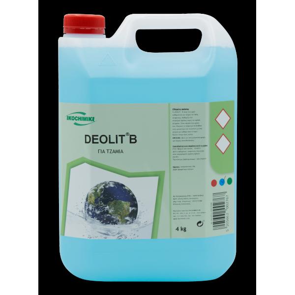 ΟΙΚΟΧΗΜΙΚΗ Deolit B Glass Cleaner 4KG 13151502009 5205662002767