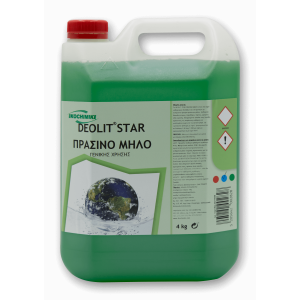 ΟΙΚΟΧΗΜΙΚΗ Deolit Star All Purpose Cleaner Apple 4Kg 13151501039 5205662002828