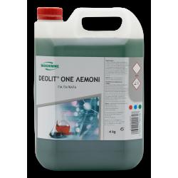 ΟΙΚΟΧΗΜΙΚΗ Deolit One Dish Washing Liquid 4KG 13090902039 5205662002798