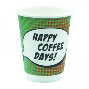 SMART CUP Paper Double Wall Cups 14OZ Pin Up Xmas 20PCS 000983-1 0150210060