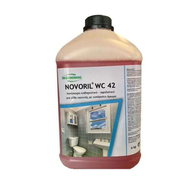 ΟΙΚΟΧΗΜΙΚΗ Novoril Wc 42 Powerful Acidic Cleaner 6KG 13151503020 5205662008141