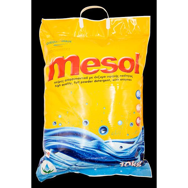 ΟΙΚΟΧΗΜΙΚΗ Mesol Complete Powder Detergent With Enzymes 10Kg 13121201028 0130340032