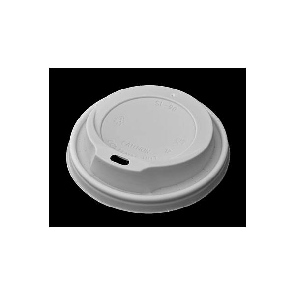 MICHAEL PROCOS Plastic Cip Lids For 14OZ-16OZ Cups White 100PCS 10.06.2114 5202511602024