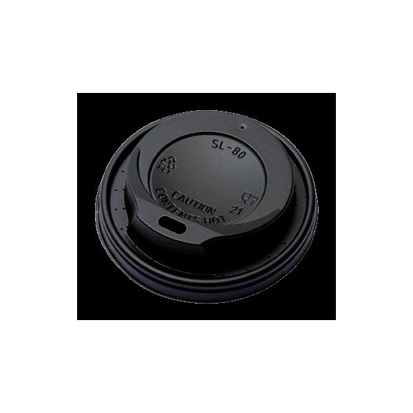 MICHAEL PROCOS Plastic Cip Lids For 8OZ-12OZ Cups Black 100PCS 10.06.2031 5200103740222