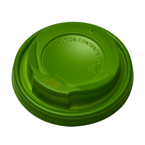 MICHAEL PROCOS Plastic Cip Lids For 8OZ-12OZ Cups Green 100PCS 10.06.2058 0150210056