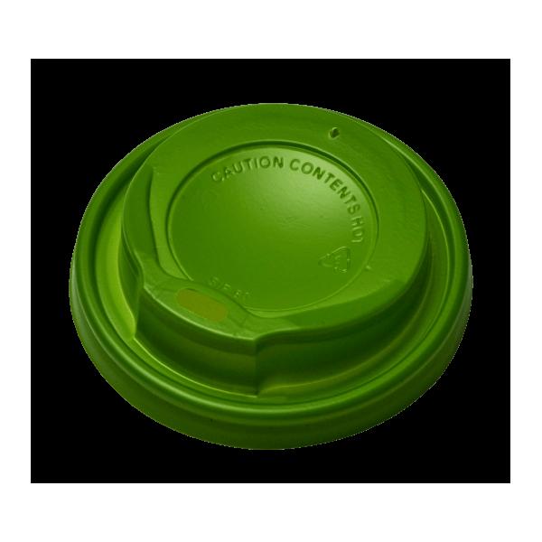 MICHAEL PROCOS Plastic Cip Lids For 8OZ-12OZ Cups Green 100PCS 10.06.2058 0150210056