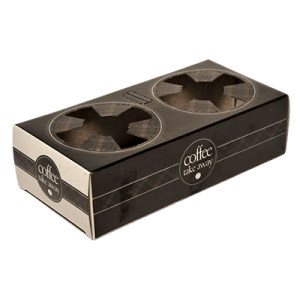 iprint Paper Cup Holder 2 Position Black Coffee Take Away CF0273 0151160010